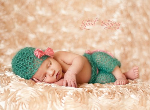 Boho Baby Hat and Pants Set Knitting Pattern - 4 Sizes Included ()