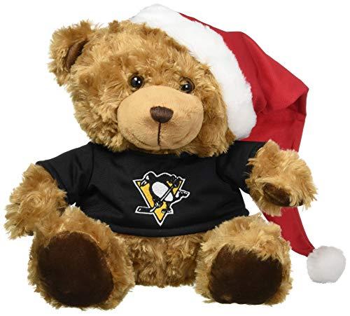 Pittsburgh Penguins Bear With Santa Hat