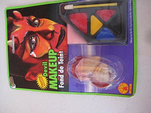 Devil Costume Makeup Male (Rubie's Devil Makeup Kit)