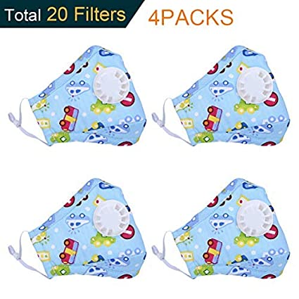 kids mask flu n95
