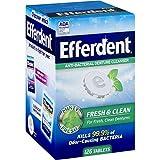 Efferdent Plus Mint Anti-Bacterial Denture Cleanser Tablets 126 ea (Pack of 3)