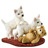 BFA Studio Dogs and Pups Two's Trouble Border Fine Arts Studio Figurine by BFA Studio Dogs and Pups