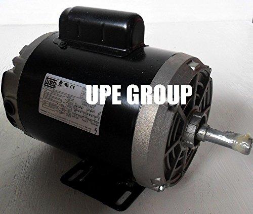 New WEG 1.5HP Electric Motor Fan Pump Compressor General purpose 56 frame 3430 rpm 1 phase (Single Phase Electric Motor)