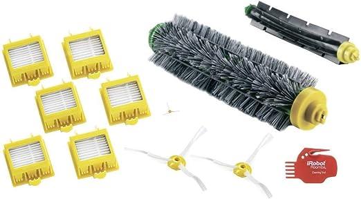 Robot Accessoire Filtres Pinceau Kit Souple Remplace Parties pour Roomba 780