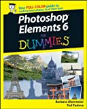 Photoshop Elements 6 for Dummies, Barbara Obermeier and Ted Padova, 0470192380