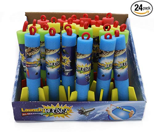 7Star Foam Finger Flyer Rocket Slingshot Launcher - Pack of 24 by 7Star