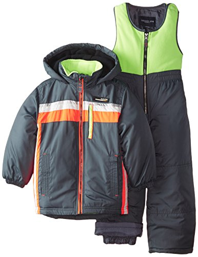 London Fog Little Boys Athletic Snowsuit, Sneaker Gray, 4 (Joker Suit For Sale)