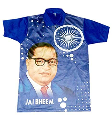 63f49feda Jai Bheem Caller T-Shirt Blue Color (Code - 09) Size XXL: Amazon.in:  Clothing & Accessories