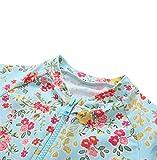 belamo Toddler Girls 1 Piece Swimsuit Short Sleeve