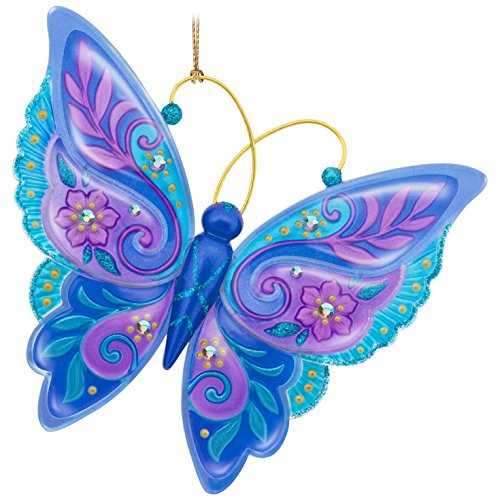 Hallmark Keepsake 2017 Brilliant Butterflies Christmas (Butterfly Ornaments For Christmas)