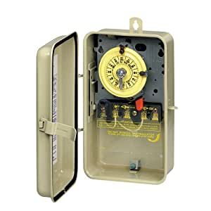 Intermatic T104r3 Time Switch In Metal Enclosure Swimming Pool Heater And Heat
