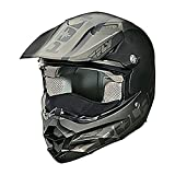 Polaris Fly F2 Carbon Fiber Helmet - Black / Gray / XX-Large
