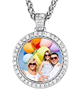 Custom Photo Necklace Men Women Personalized Jewelry Customized Any Picture Pendant Stainless Ste...