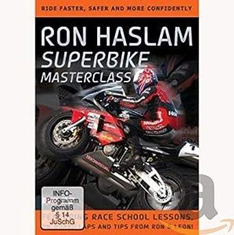 Ron Haslam Superbike masterclass [Reino Unido] [DVD]: Amazon ...