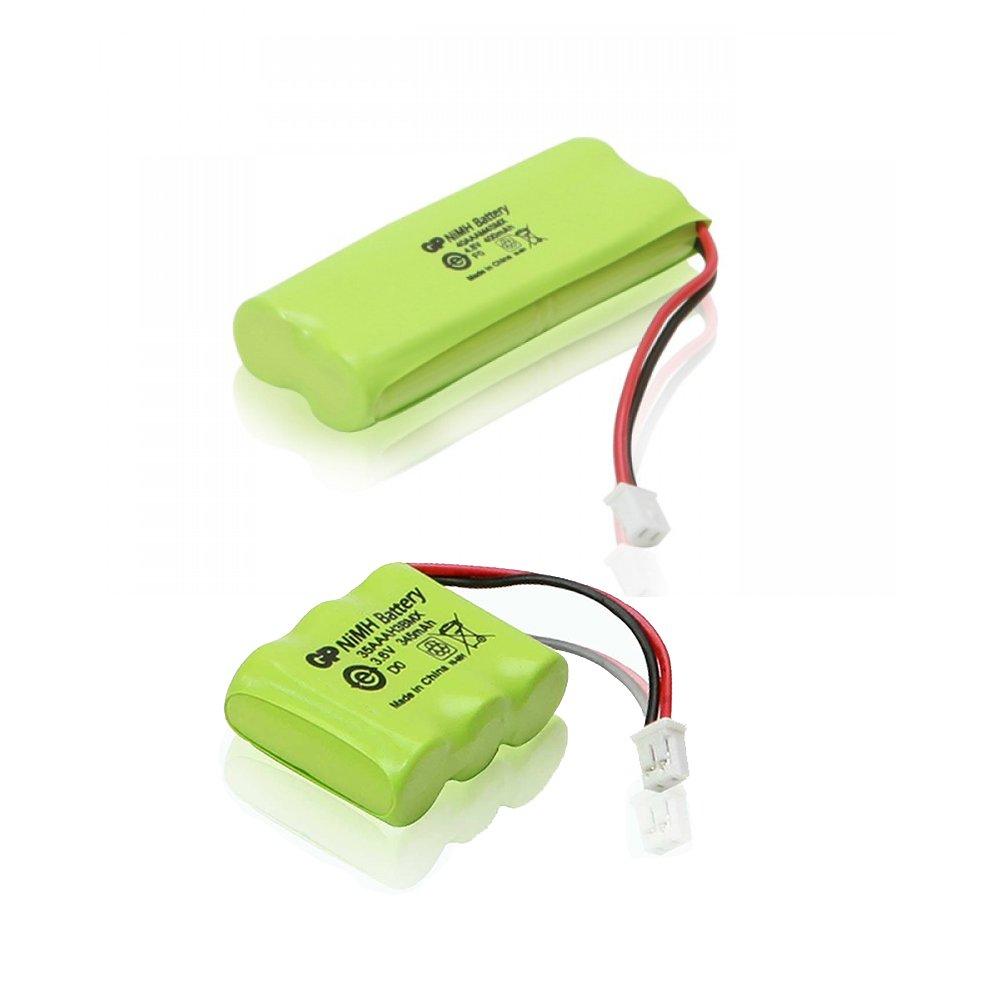 BP12RT, BP20R Transmitter and Receiver Battery for Dogtra 300M, YS500, SureStim H Plus, 302M, 280 NCP, SureStim M Plus Dog Training Collars