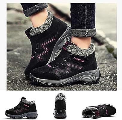 Botas De Trekking Y Senderismo Invierno Zapatos Para Mujer Suela ...