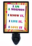 Mormon Faith Night Light - I am a Mormon - LDS