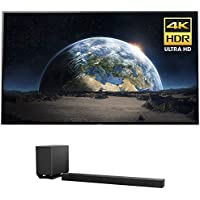 Sony XBR77A1E 77-Inch 4K Ultra HD Smart BRAVIA OLED TV (2017 Model) w/ Sony HT-ST5000 7.1.2ch 800W Dolby Atmos Sound Bar