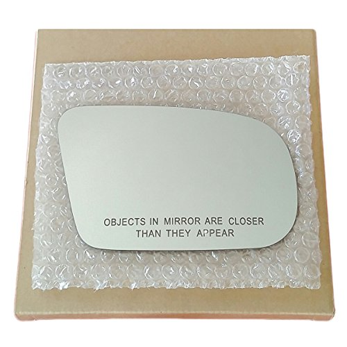 Mirror Glass and Adhesive 92-98 Pontiac Grand Am / 92-98 Buick Skylark Passenger Right Side Replacement