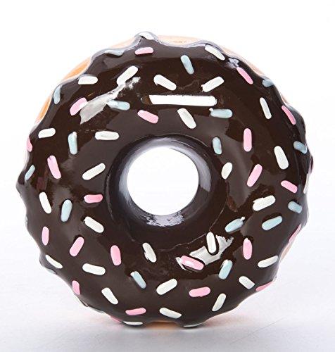 Memoriez Chocolate Datanos Sprinkles Donut Coin Bank by Memoriez
