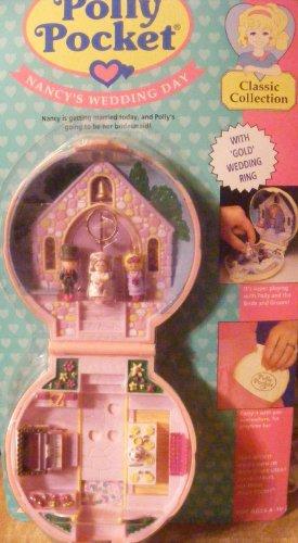 Vintage Polly Pocket Nancy's Wedding Day (1993) Retired