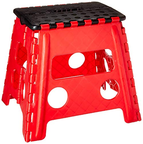 GRIP 54090 Foldable Step Stool, Large