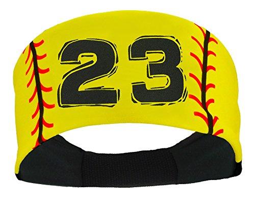 Player ID Softball Stitch Headband
