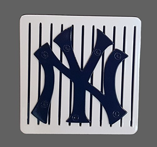 NY Yankees Striped Custom Hitch Cover