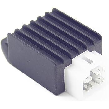 voltage regulator rectifier 4 pin for dazon. Black Bedroom Furniture Sets. Home Design Ideas