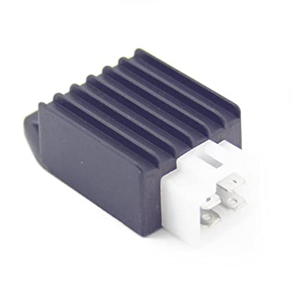 Amazon Com 4 Pin 12v Voltage Regulator Rectifier For 4 Stroke 50cc