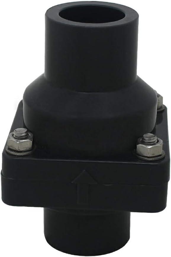 Valvula antiretorno agua pvc drenaje para desagüe cocina válvula antiolor diámetro interno 20 25 32 40 50 63 75 90 110 125 160 200mm (Diámetro Interno 32mm)