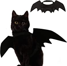 Ehdching Cat Costume Halloween Pet Bat Wings Cat Dog Costume  sc 1 st  Amazon.com & Amazon.com: Costumes - Apparel u0026 Accessories: Pet Supplies