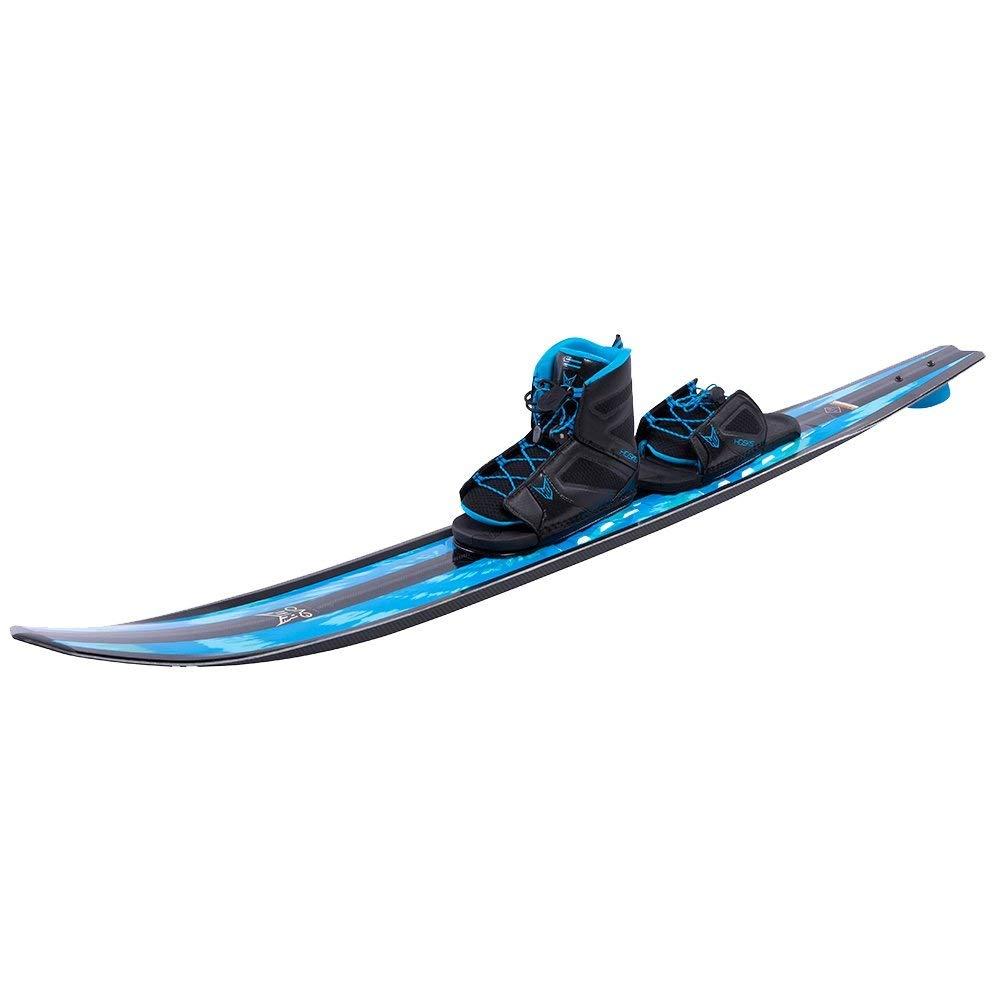 HO Sports 67'' Evo Slalom Ski with Adjustable freeMAX Binding and Rear Toe Piece Mens