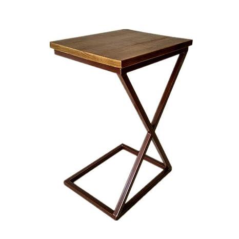 Amazon.com: WYNZYBZ - Mesa plegable pequeña, mesa de café ...