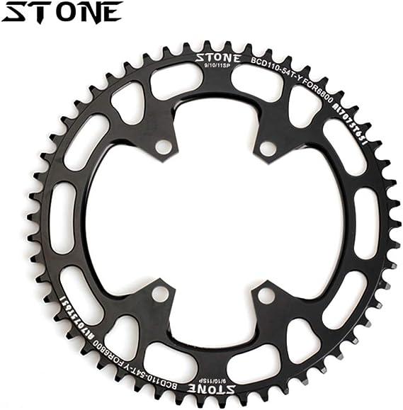 Xennos Stone Circle - Plato para Bicicleta de Carretera (110 mm ...