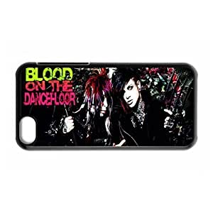 Gators Florida USA-4 Music Band Blood on the Dance Floor Print Black Case With Hard Shell Cover for Apple iPhone 5C