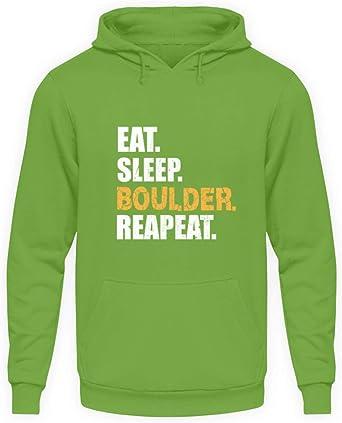 Género Eat Sleep Boulder Repeat Kletterwand Kletterhalle ...