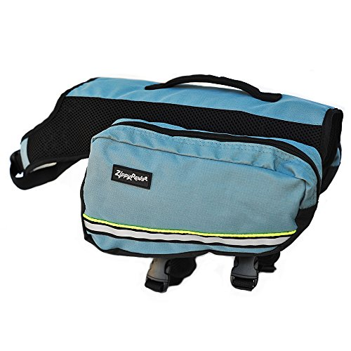 ZippyPaws Adventure Backpack for Dogs Forest Green