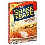 shake and bake chicken - Kraft Shake N Bake Seasoned Coating Mix Box, Hot and Spicy 4.75 Oz Pack of 4