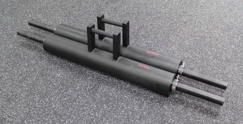 CFF Pro HD Farmer Walk Handles (Pair) - Great for Strongman Training or a Crossfit Workout by Christian's Fitness Factory
