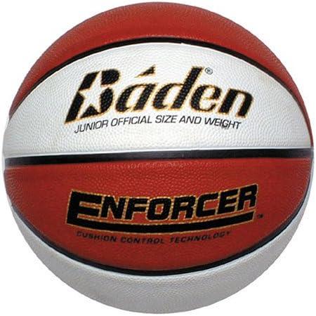 Baden Enforcer Balón de baloncesto en blanco y marrón, Tan/Cream ...