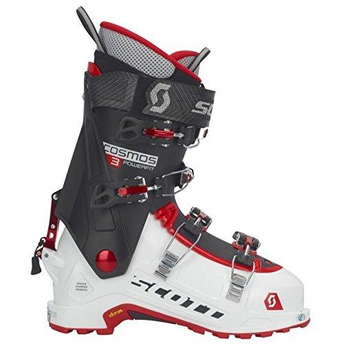 Scott Cosmos III Ski Boot, White/Black, 27.5, 254072-27.5 (Best Alpine Touring Boots For Wide Feet)