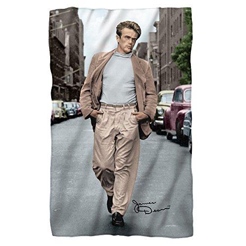 James Dean Colorful Walk Sublimation Fleece Blanket