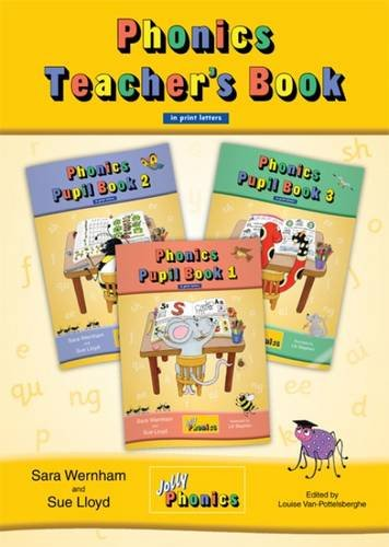 Jolly Phonics Teacher's Book (colour edition): in Print Letters (BE) (Teacher Books Print)