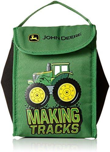 John Deere Boys' Lunchbox, Dark Green, One Size