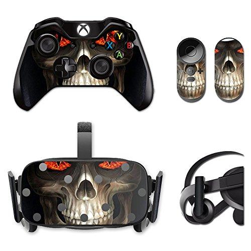 MightySkins Protective Vinyl Skin Decal for Oculus Rift CV1 wrap Cover Sticker Skins Evil Reaper
