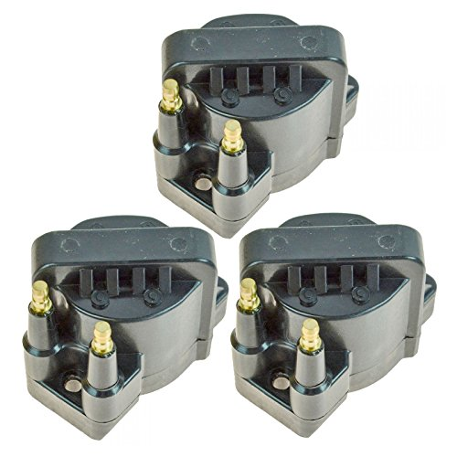 - Ignition Spark Coil Pack Set of 3 Kit for Buick Chevy Cadillac GMC Pontiac V6