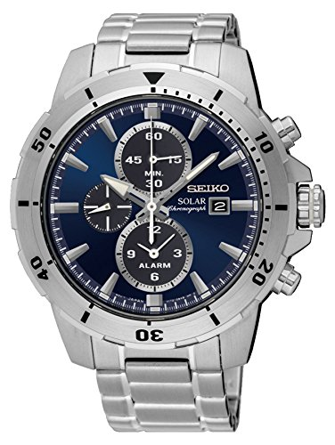 SEIKO Prospex Sea Diver's 200m Chronograph Solar Sports Watch Yellow - Seiko 200 Diver