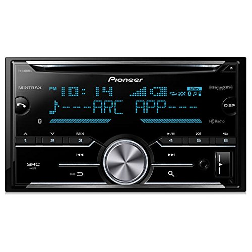 (Pioneer FH-X830BHS Double Din CD Receiver with Built-In Bluetooth & HD Radio)