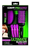 conair 1000 - Conair Pro Series Ultimate Blow-Dry tool Kit for Short to Medium Hair
